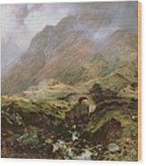 Glencoe Wood Print
