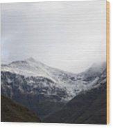 Glencoe Shrouded In Mist Wood Print