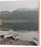 Glencorse Reflection. Wood Print