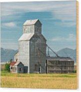 Glengarry Grain Elevator Wood Print