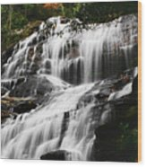 Glenn Falls - Nc Wood Print