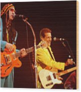 Glenn Frey Joe Walsh-0980 Wood Print