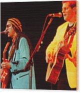 Glenn Frey Joe Walsh-1030 Wood Print