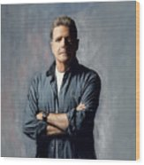 Glenn Frey Wood Print