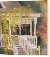 Glenridge Porch Wood Print