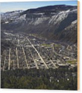 Glenwood Springs Canyon Wood Print