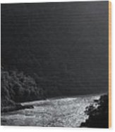 Glimmer On The Ganges Wood Print