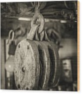 Glimpse Into The Past Wood Print