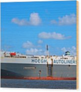 Global Carrier Wood Print