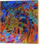 Globe Nebula Wood Print