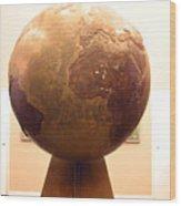 Globed  Wood Print