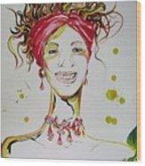 Gloria De Mi Vida Wood Print