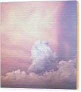Glories Of Heaven Wood Print