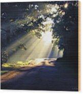 Glorious Morning Wood Print