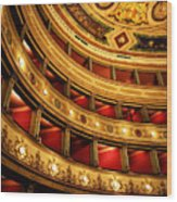 Glorious Old Theatre Wood Print