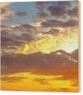 Glorious Sunrise Wood Print