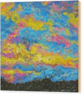 Glorious Sunset 2 Wood Print