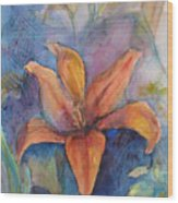Glorius Lily Wood Print