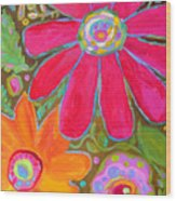 Glory All Around Wood Print