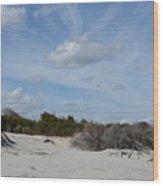 Glory Beach Wood Print
