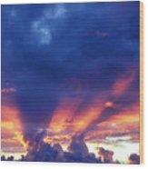 Glory Cloud Wood Print