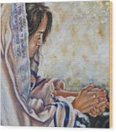 Glory In His Name Wood Print by Ilse Kleyn