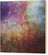 Glory Oil Abstract Painting Wood Print