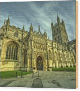 Gloucester Cathedral  Wood Print