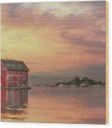 Gloucester Copper Paint Manufactory Wood Print