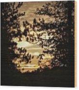 Glow Wood Print
