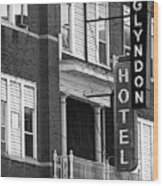 Glyndon Hotel Wood Print