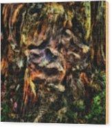 Gnarled Wood Print