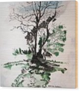 Gnarly Wood Print