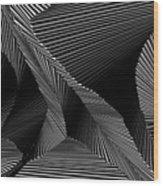 Gnicartraeh Wood Print