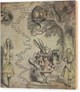 Go Ask Alice Wood Print