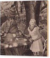 Go Ask Alice Wood Print