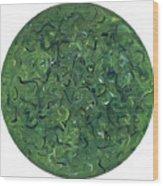 Go Green Wood Print