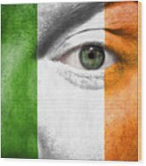 Go Ireland Wood Print by Semmick Photo