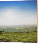 Go West Wood Print