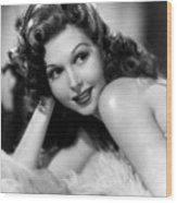 Go West Young Lady, Ann Miller, 1941 Wood Print by Everett