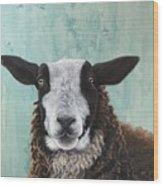 Goat Tee Wood Print