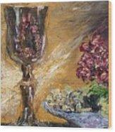 Goblet Wood Print