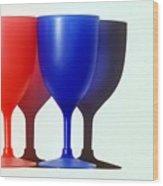 Goblets Wood Print