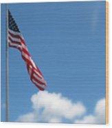 God Bless America Wood Print by Mg Blackstock