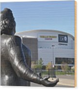 God Bless The Flyers - Kate Smith Wood Print