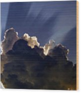 God Speaking Wood Print by David Lee Thompson