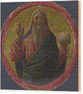 God The Father Wood Print
