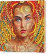 Goddess 224 Wood Print