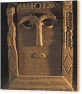 Goddess Hayyan Idol From The Temple Wood Print