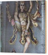 Goddess Khali In Singapore Wood Print